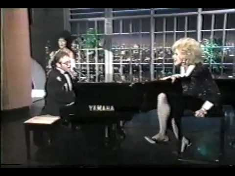Elton John With Joan Rivers And Cher - The Bitch Is Back (Live)