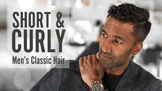 Amazing Short & Curly Hair For Classic Men