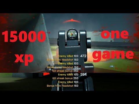 SkillWarz | Demolishing a Deathmatch Lobby: 15,000+ XP, 58-15. AUG No Attachments.