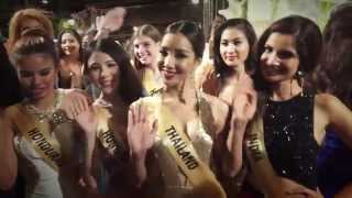 Miss Grand International 2015 Star of Stars Fashion show at Trat