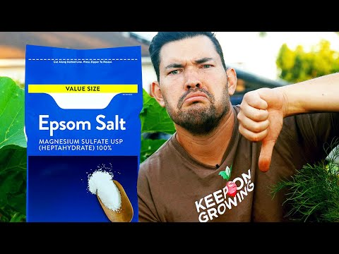 Epsom Salt Is Not As Beneficial For the Garden As You Think