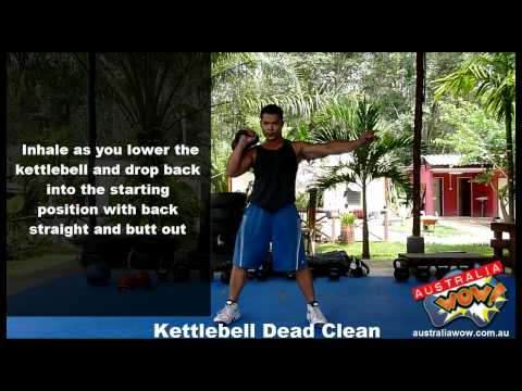 Kettlebell Dead Clean Exercise Com