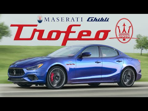 TWIN TURBO FERRARI! 2021 Maserati Ghibli Trofeo Review
