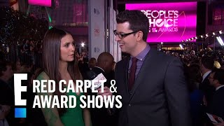 Нина Добрев и Йен Сомерхолдер, Nina Dobrev on the Red Carpet