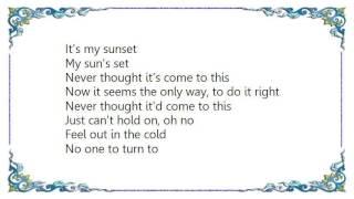 Cheap Trick - Can't Hold On Lyrics