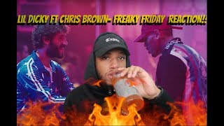 Lil Dicky - Freaky Friday feat. Chris Brown (Official Music Video) REACTION!!!