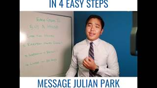HOMEBUYERS - BUY IN 4 EASY STEPS | JULIAN PARK TOP REAL ESTATE AGENT | GET REAL VALLEY