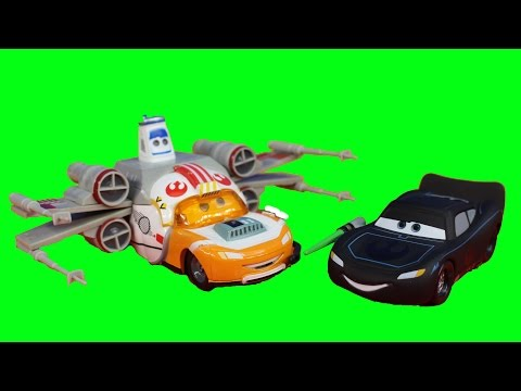 Disney Pixar Cars Star Wars Lightning McQueen Darth Mater Han Solo Emperor Sarge