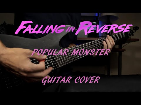 """Falling In Reverse - """"Popular Monster"""" (Guitar Cover) HD NEW SONG 2019"""