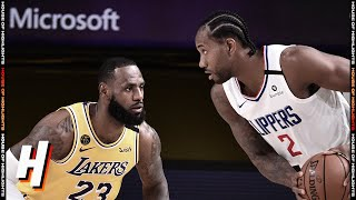 Los Angeles Lakers Vs Los Angeles Clippers - Full Game Highlights | July 30, 2020