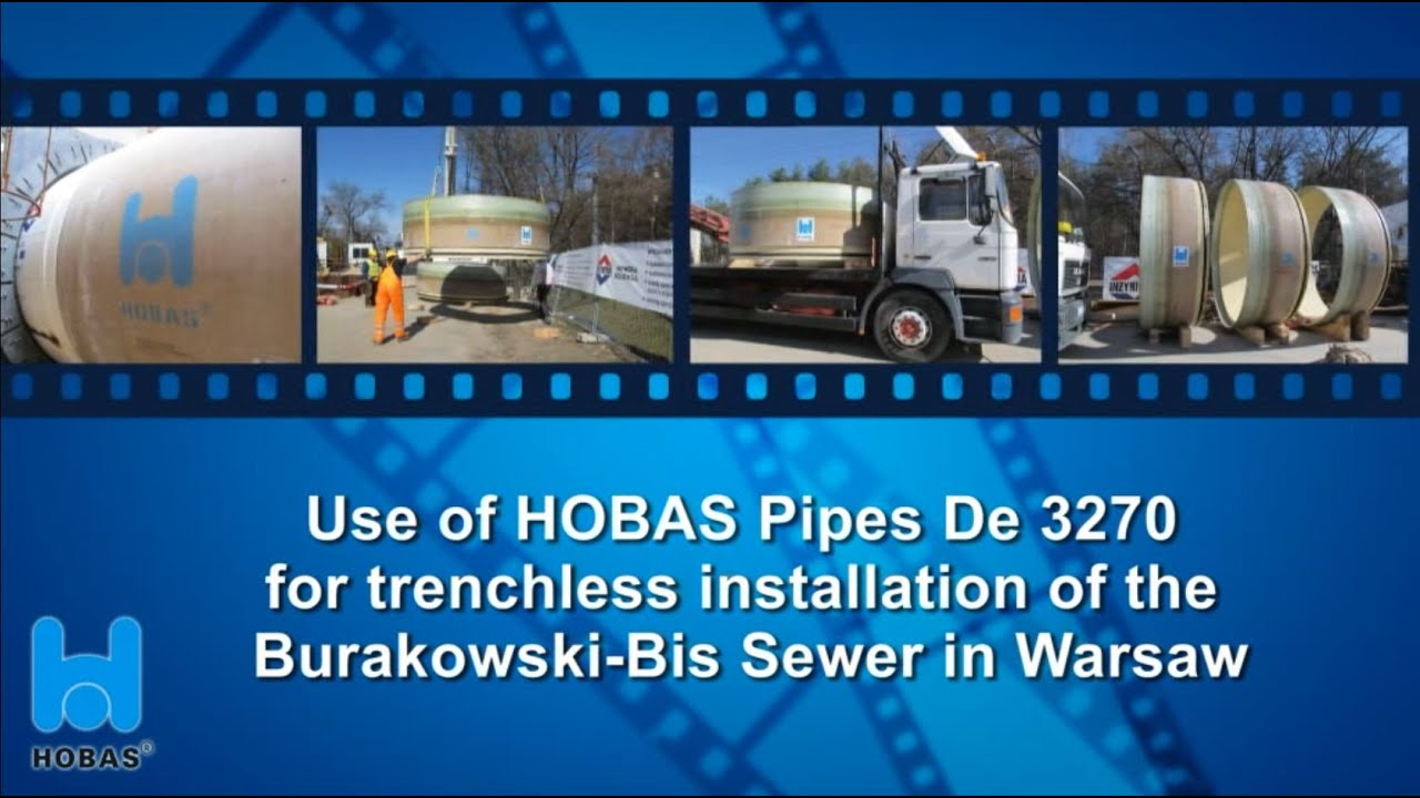 Record Size Microtunnelling with HOBAS CC-GRP Pipes De 3270