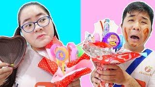 Bó Hoa Hubba Bubba Tí Hon Troll Bạn Ngày Valentine & Cái Kết   Lớp Học Bá Đạo
