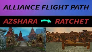 WoW Classic - How to get a Connecting Flight Path to Ratchet
