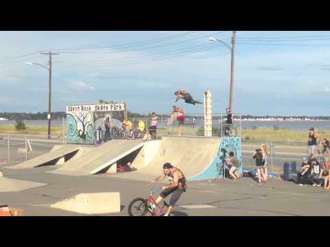 Savin Rock skatepark jam! (CT) West Haven.