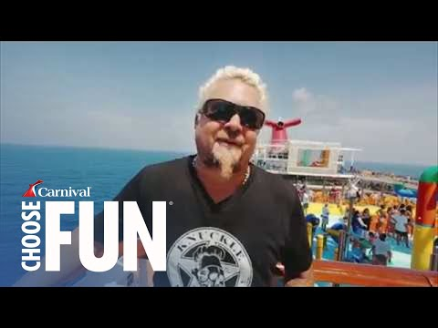 Guy Fieri's Family Vacation On Carnival | Carnival Cruise Line Mp3