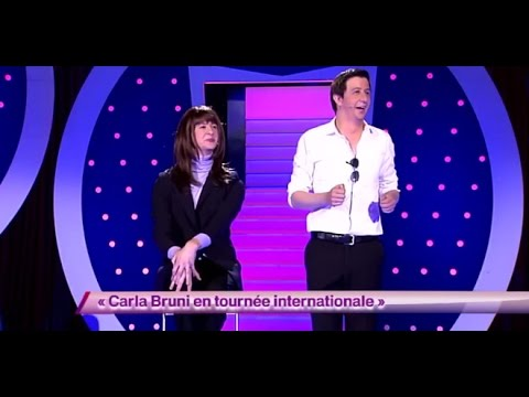 Carla Bruni en tournée internationale