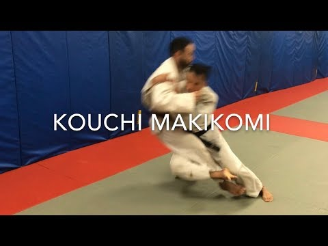 Judo throw Kouchi makikomi by Hien Pham