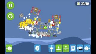 preview picture of video 'Bad Piggies BACON Missile Cruiser'