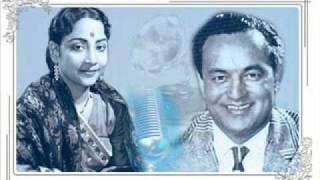 Geeta Dutt, Mukesh : berukhi bas ho chuki : Film - Hamari Beti