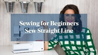 How To: Sew In A Straight Line (Sewing For Beginners)