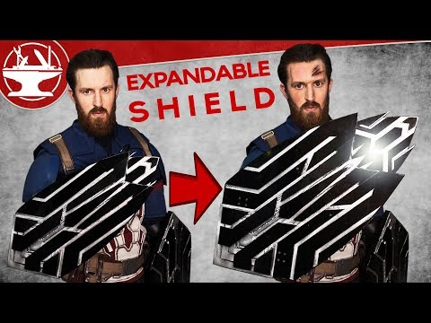Captain America Shield BUILD (INFINITY WAR)