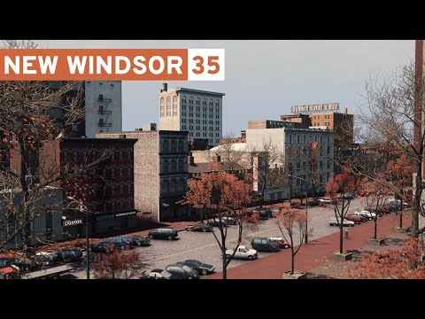 Detailing the Downtown - Cities Skylines: New Windsor - Part 35 -