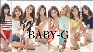 150425 [SNSD] – BABY-G 2015 S/S Collection (CASIO) [Original] by mo yuna