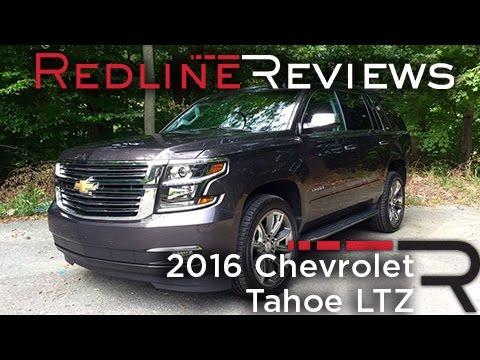 2016 Chevrolet Tahoe LTZ – Redline: Review