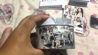 Unboxing Baby G x Girls Generation 2016 edition