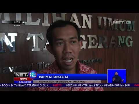 Diduga Ada Pelanggaran, Pemungutan Suara Ulang di Tangerang Digelar NET12