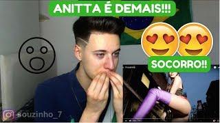 REAGINDO A ANITTA- PARADINHA!!!