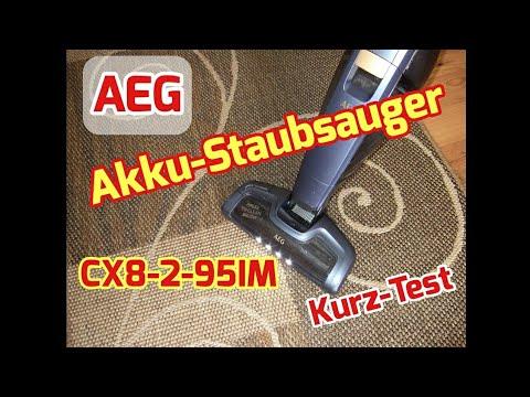 AEG Akku-Staubsauger CX8-2-95IM Kurz-Test
