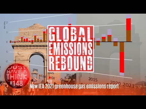 Global greenhouse gas 2021 rebound. Is there any chance of staying under 1.5 degrees Celsius?