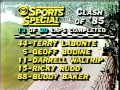 1985 Busch Clash won by Terry Labonte