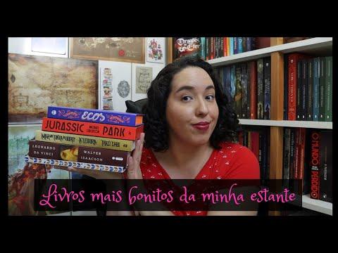 Livros mais bonitos da minha estante | Semana de vídeo todo dia 6 | Raíssa Baldoni