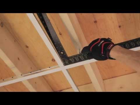 RONA – How to Install Suspended Ceiling