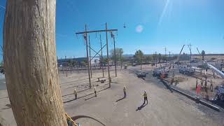 NLC H Structure Insulator Change Out Pt.2