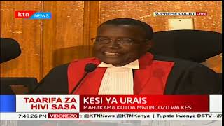 Supreme Petition: Justice Maraga outlines rules of engagements at the Supreme Court