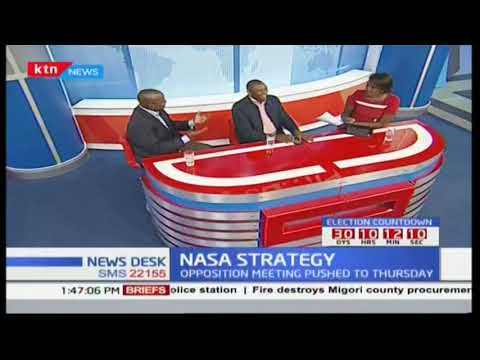 Newsdesk Discussion: NASA's planned protest aimed at pushing for changes in IEBC