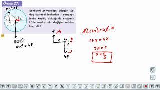 Eğitim Vadisi AYT Fizik 7.Föy Denge ve Denge Şartları 4 (3 Boyutlu Cisimler, Ağırlık Merkezi) Konu Anlatım Videoları