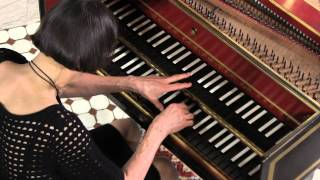 Haydn Harpsichord: Comparone plays Adagio of Sonata in E-Flat Major, # 52