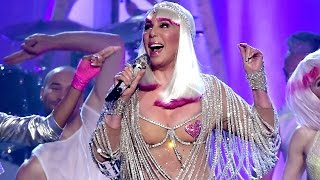 Cher accepts Icon Award at 2017 Billboard Awards