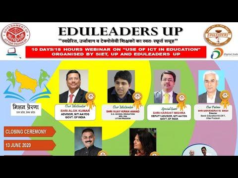 SIET Eduleaders UP Webinar on ICT date 13th June Part 3