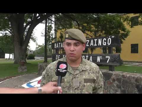 Efectivo militar salva la vida de una salteña en las aguas del río Uruguay