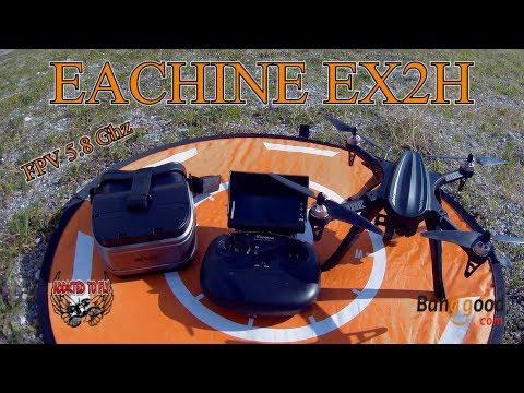 RECENSIONE EACHINE EX2H FPV