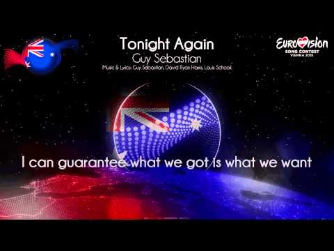 "Guy Sebastian - ""Tonight Again"" (Australia) Mp3"
