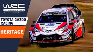 TOYOTA GAZOO Racing: Heritage in WRC