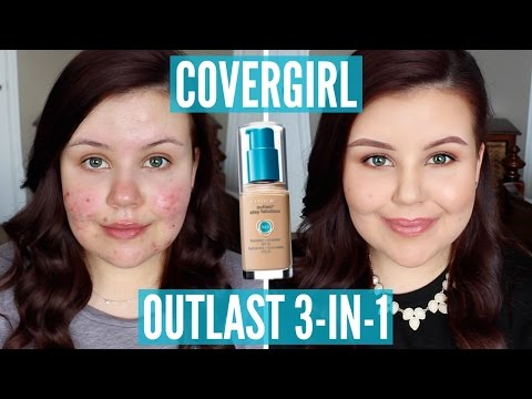 First Impressions | Covergirl Outlast 3-in1 Foundation (Acne/Scarring)
