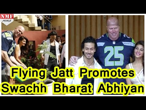 Tiger Shroff and Jacqueline Fernandez Promote A Flying Jatt | Swachh Bharat Abhiyan - Uncut
