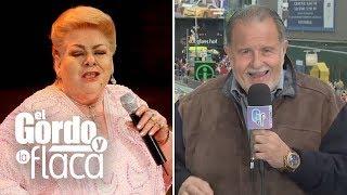 Representante de Paquita la del Barrio le confirma que la salud de la cantante ha mejorado | GYF